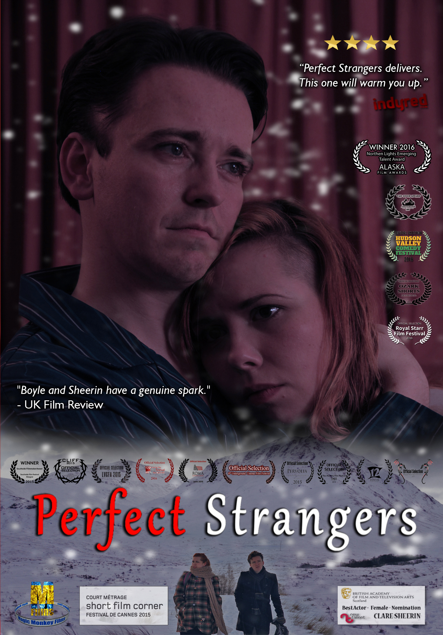 Short Film Review Perfect Strangers One Film Fan